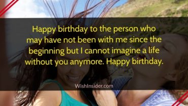 birthday wishes for step sister