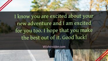 Good Luck on Your New Adventure Quotes