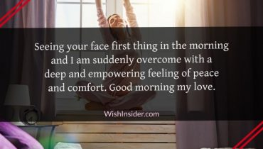 Good Morning Quotes for Love of my Life