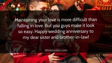 happy anniversary sister and brother in law quotes