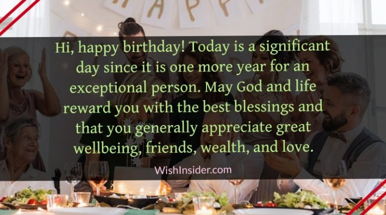 happy birthday to a special person wishes